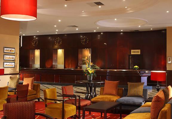 格拉斯哥万豪酒店 - 格拉斯哥 - 大厅