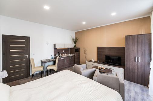 斯帕乐那公寓式酒店 - 布拉格 - 睡房