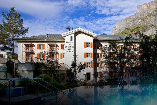 索斯阿尔卑斯酒店 - 洛伊克巴德 - 建筑
