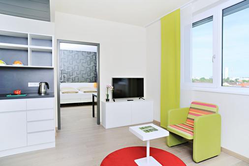 慕尼黑哈利之家公寓酒店 - 慕尼黑 - 客厅