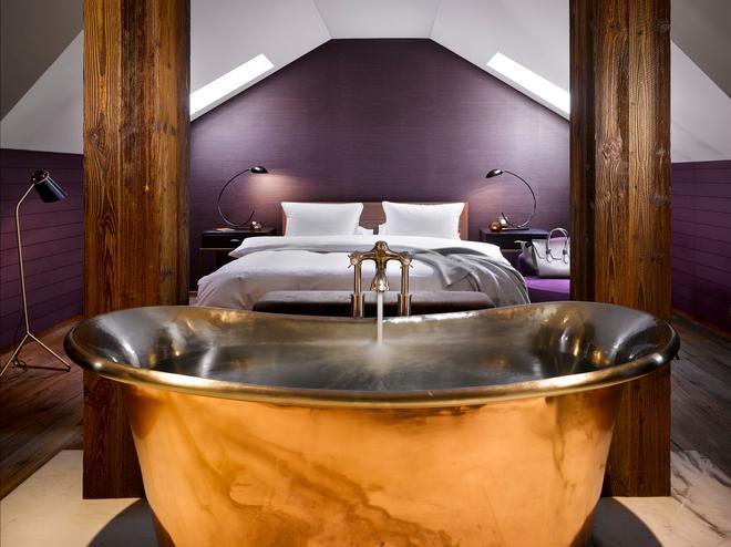 布拉格徽章酒店 - 布拉格 - 睡房