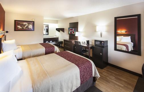 底特律特洛伊红屋顶酒店 - 特洛伊 - 睡房