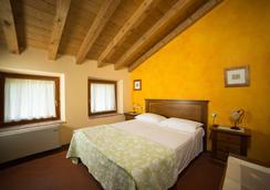 卡萨罗莎农庄酒店 - 维罗纳 - 睡房