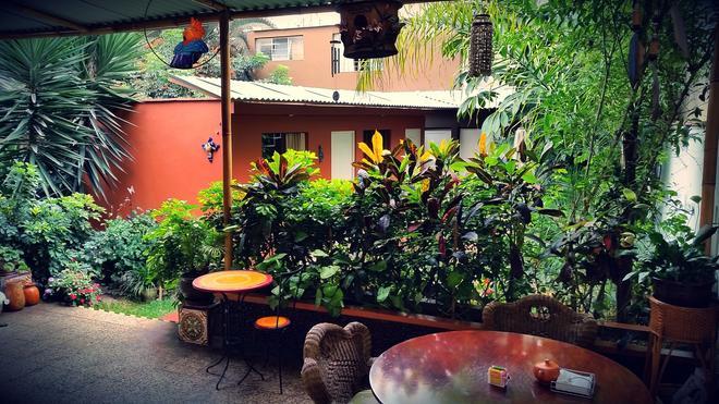 维拉米拉弗洛雷斯之家住宿加早餐酒店 - 利马 - 露台