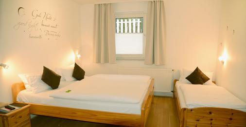 黑伦霍夫酒店 - 吕贝克 - 睡房