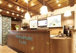 菲尔特阿尔兹塔德酒店 - 菲尔特 (巴伐利亚) - 柜台