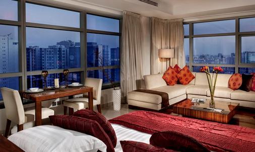 多哈辉盛国际公寓 - 多哈 - 客厅