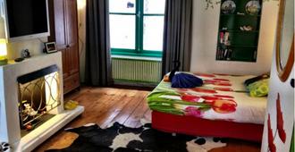 阿姆斯特丹郁金香住宿加早餐旅馆 - 阿姆斯特丹 - 睡房
