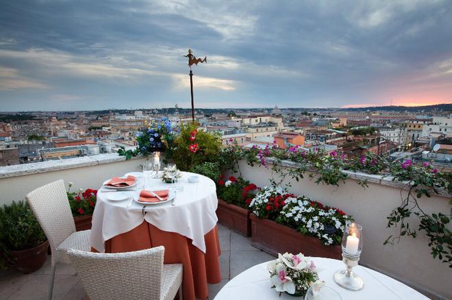 罗马贝托嘉地中海酒店 - 罗马 - 阳台