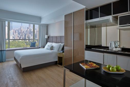 麦当劳道贰号酒店式服务住宅公寓 - 香港 - 睡房