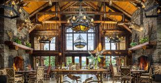怀特费斯旅馆 - 普莱西德湖 - 餐厅