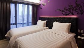 富驿时尚酒店台北南京东路店 - 台北 - 睡房