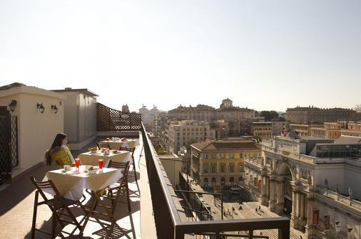 罗马艾斯珀斯兹恩酒店 - 罗马 - 阳台