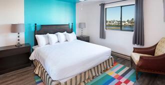 海岸河酒店 - 西塞德 - 睡房