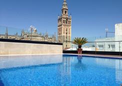 塞维利亚卡萨 1800 酒店 - 塞维利亚 - 游泳池