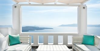 阿加利酒店 - 菲罗斯特法尼 - 阳台