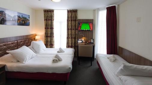 植物公园酒店 - 阿姆斯特丹 - 睡房