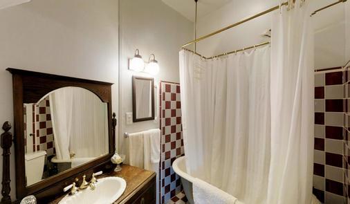 雪松山墙住宿加早餐旅馆 - 纳帕 - 浴室