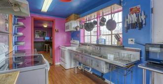罪恶城市青年旅舍 - 拉斯维加斯 - 厨房