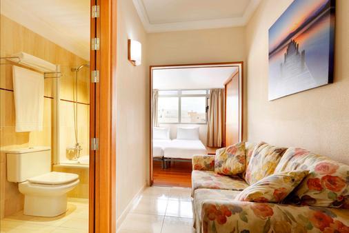 阿丽斯奥斯特拉斯酒店 - 大加那利岛拉斯帕尔马斯 - 客厅