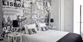 里斯本艺术酒店 - 里斯本 - 睡房