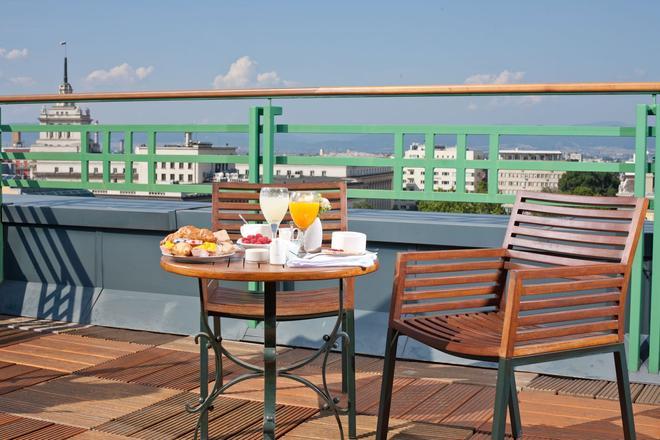 索菲亚大酒店 - 索非亚 - 阳台