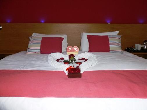 维乐酒店 - 曼彻斯特 - 睡房