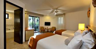 雷夫普雷亚卡尔酒店 - 全包 - Playa del Carmen - 睡房