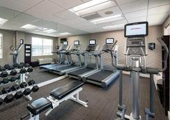 万豪Residence Inn旧金山机场/蚝点海滨酒店 - 南旧金山 - 健身房