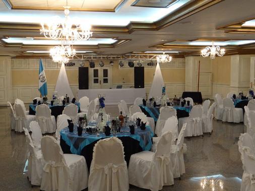 皇宫酒店 - 危地马拉 - 宴会厅