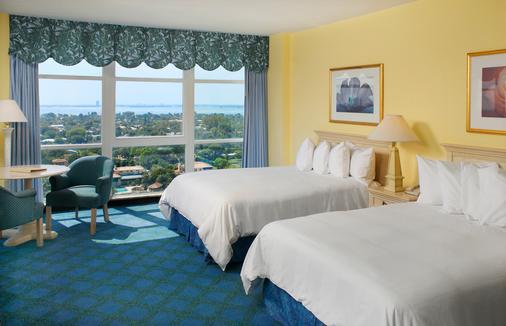 迈阿密海滩Spa度假酒店 - 迈阿密海滩 - 睡房