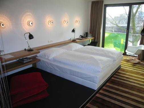 昂贝弗拉斯设计酒店 - 不莱梅 - 睡房