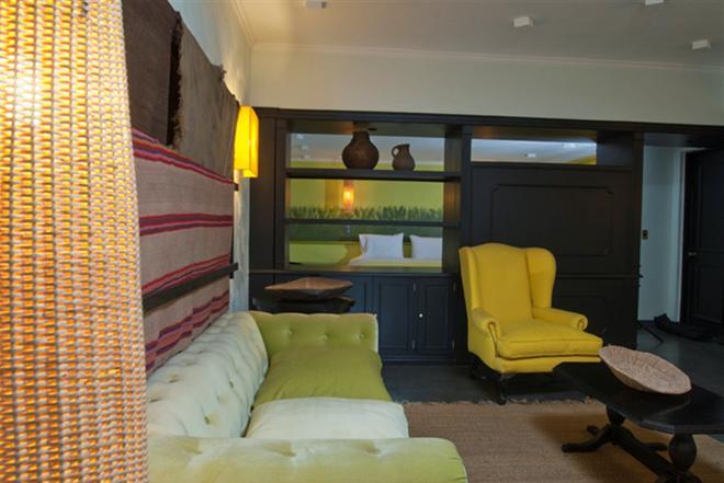 蓝树创始人酒店 - 圣地亚哥 - 客厅
