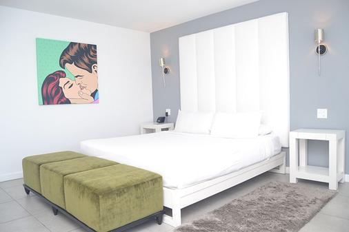 北滩皇家棕榈度假村及Spa度假酒店 - 劳德代尔堡 - 睡房