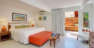 德尔马科斯酒店 - 仅限年满21岁的成人 - 棕榈泉 - 睡房