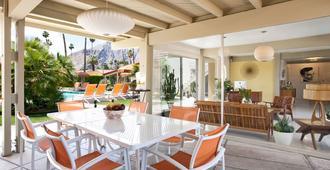 德尔马科斯酒店 - 仅限年满21岁的成人 - 棕榈泉 - 露台