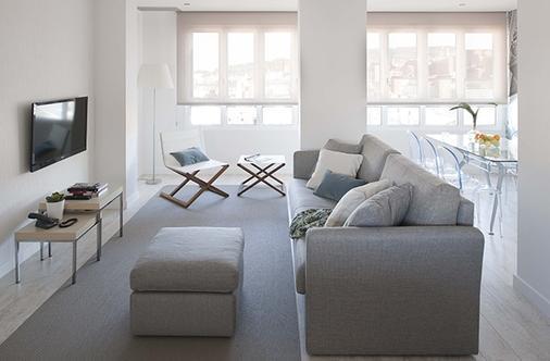 埃里克沃克尔精品公寓酒店 - 格兰大道套房 - 巴塞罗那 - 客厅