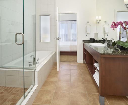 韦达米特拉酒店 - 埃德蒙顿 - 浴室