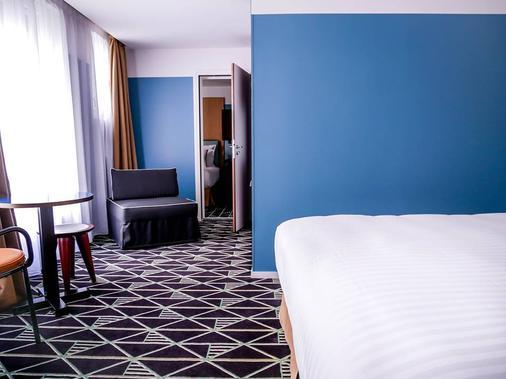 巴黎布列塔尼大区阿祖雷瓦酒店 - 巴黎 - 睡房
