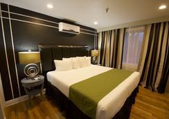 海德公园酒店 - 坦帕 - 睡房