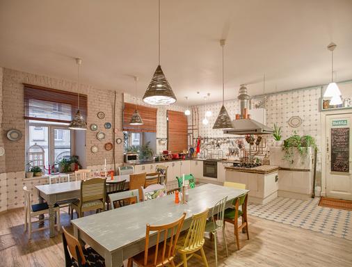 心灵厨房旅舍 - 圣彼德堡 - 厨房