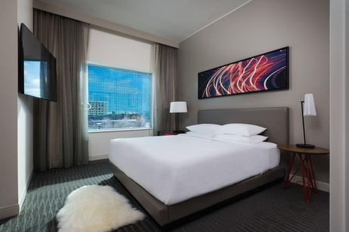 布卢明顿凯悦丽景酒店 - 布卢明顿 - 睡房