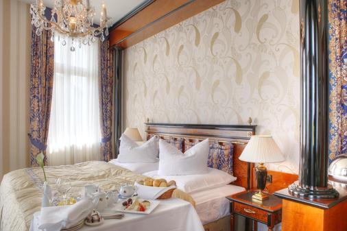 阿尔贝克霍夫斯特尔酒店 - 塞巴特黑灵斯多夫 - 睡房