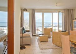 波罗的海住宅班森斯特尔公寓式酒店 - Seebad Bansin - 睡房