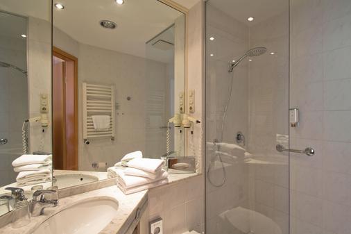 珀摩尔霍夫斯特尔酒店 - 塞巴特黑灵斯多夫 - 浴室