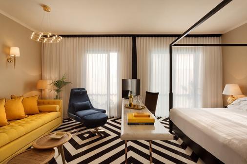 布朗海滨别墅布朗酒店 - 特拉维夫 - 睡房