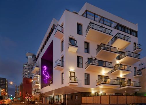 布朗海滨别墅布朗酒店 - 特拉维夫 - 建筑