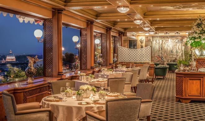 罗马卡瓦利瑞华尔道夫阿斯多利亚酒店 - 罗马 - 宴会厅