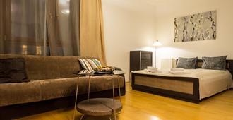 戈兹斯都阁公寓式酒店 - 布达佩斯 - 睡房