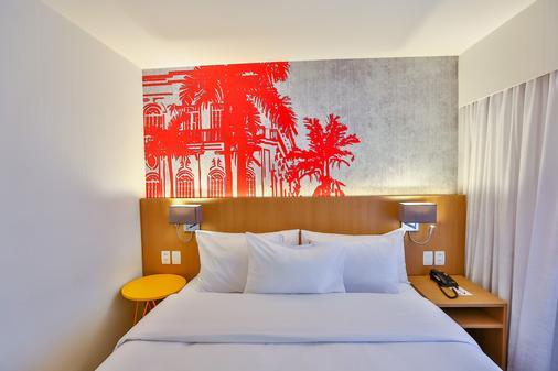 雷迪森红坎皮纳斯酒店 - 坎皮纳斯 - 睡房